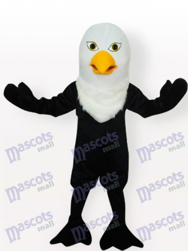 Black Eagle Adult Mascot Costume