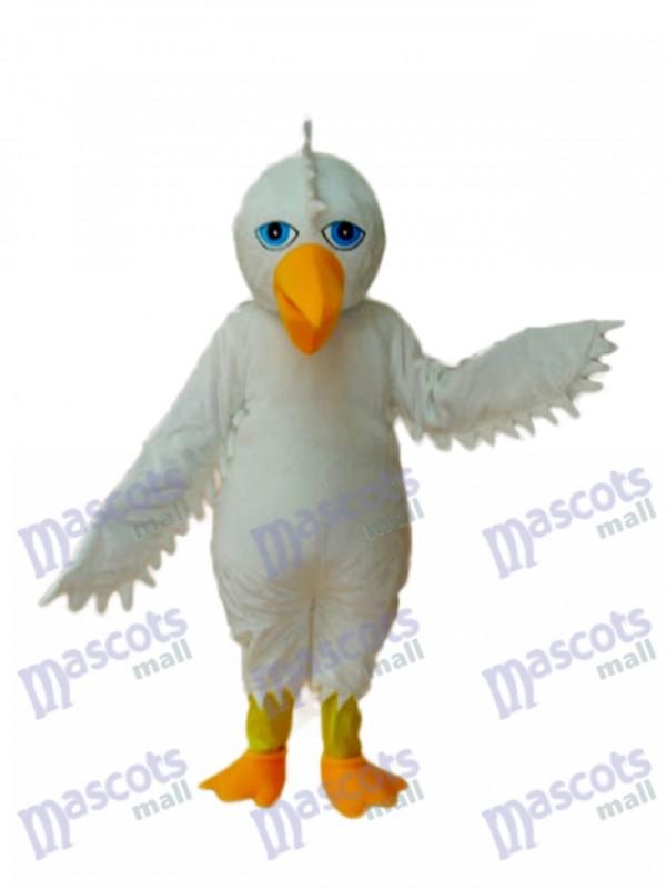 White Eagle Mascot Adult Costume