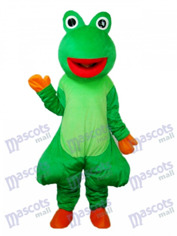 sc 1 st  Custom Mascot Costume & Red Mouth Odd Frog Mascot Adult Costume Animal