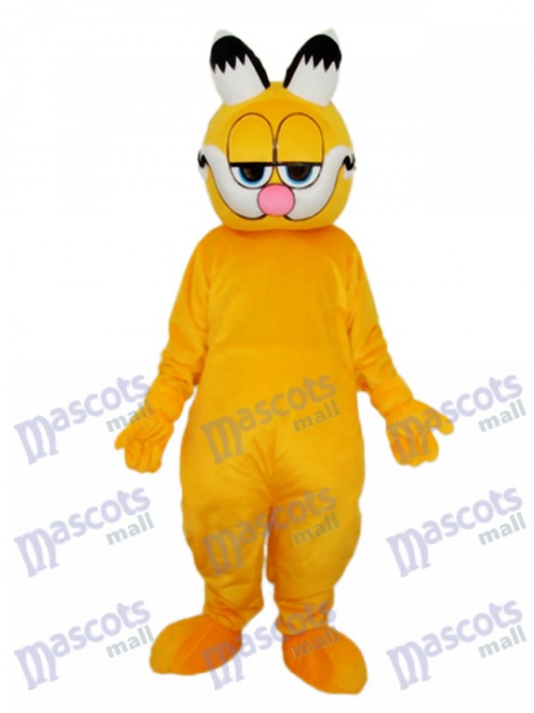 Pointed Ear Garfield Mascot Adult Costume