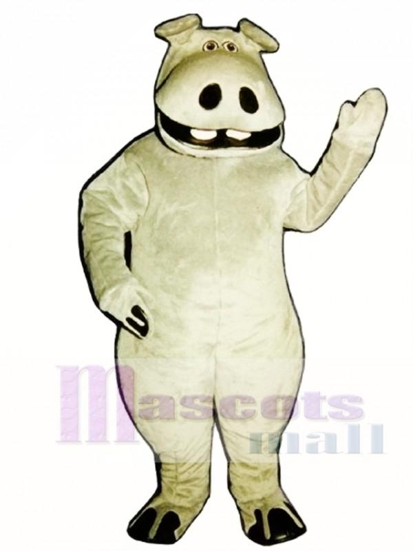 Hippie Hippo Mascot Costume