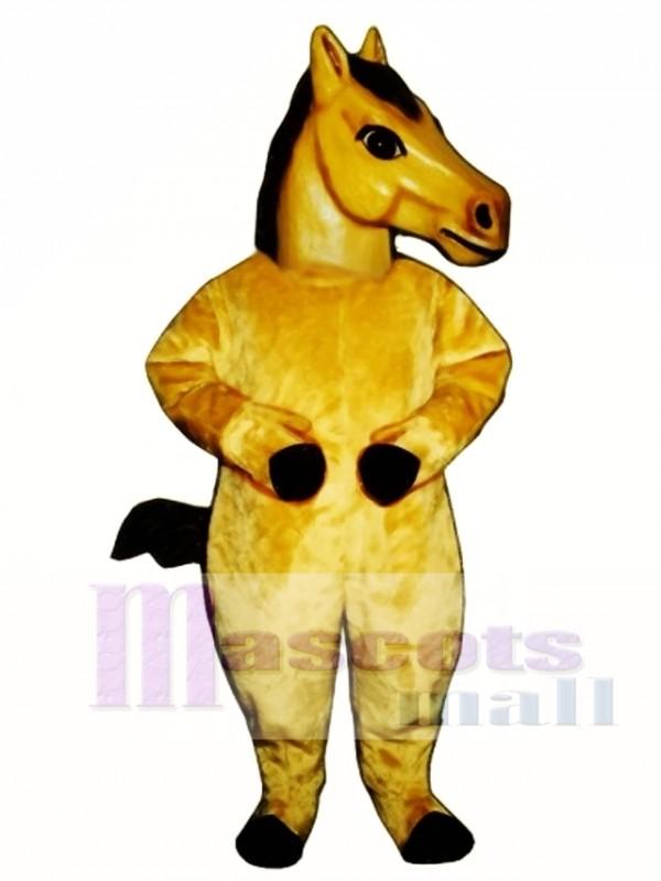 Cute Realistic Horse Mascot Costume