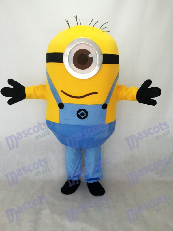 Despicable Me One Eye Minions Mascot Costume