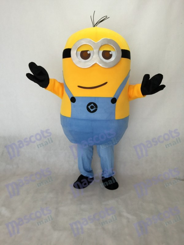 Two Eyes Despicable Me Minions Mascot Costume D