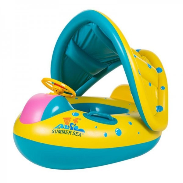 Inflatable Swim Float Toys Seat Boat Water Sport For Baby Kids
