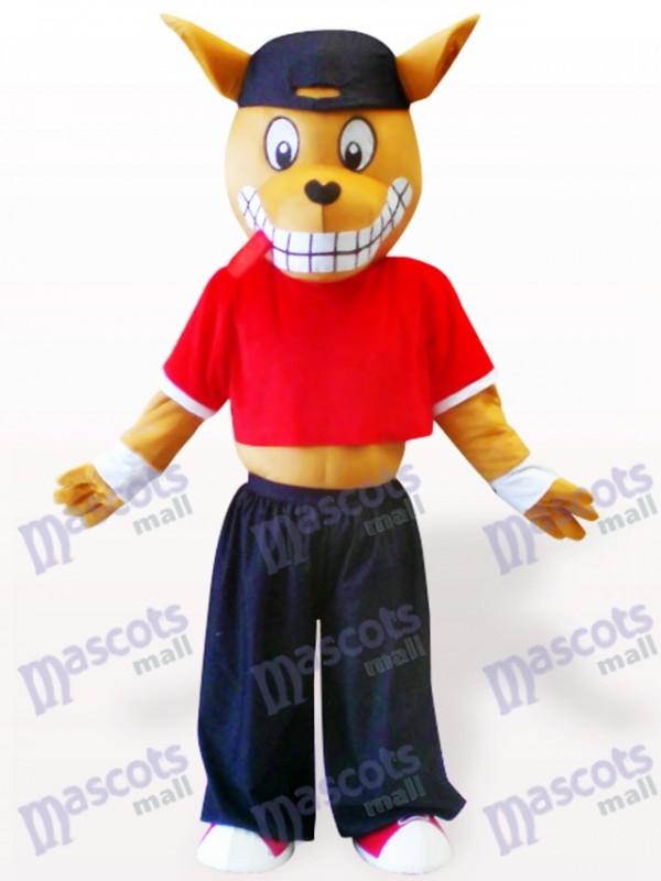 Wood Kangaroo Adult Mascot Costume