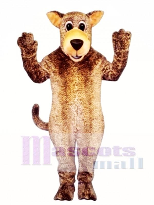 Cute Leo Leopard Mascot Costume