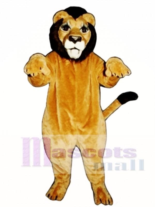 Realistic Lion Mascot Costume