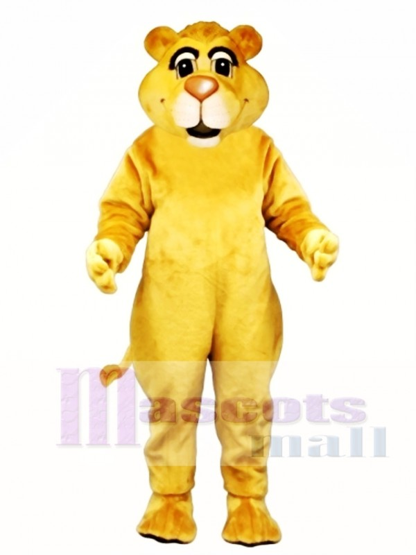Young Lion Mascot Costume