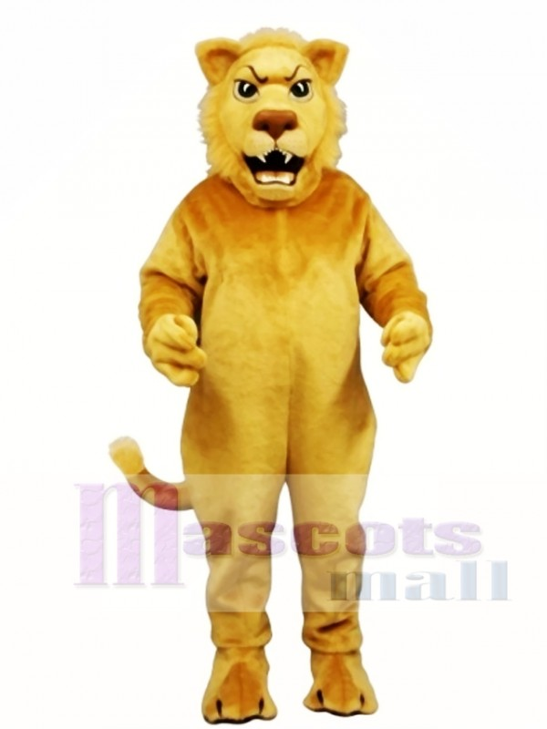 Cute Leslie Lion Mascot Costume
