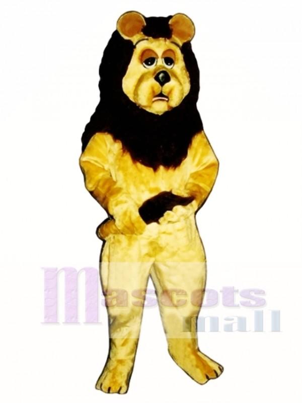 Cowardly Lion Mascot Costume