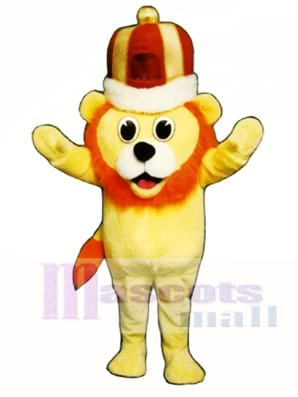 Cute Madcap Lion Mascot Costume