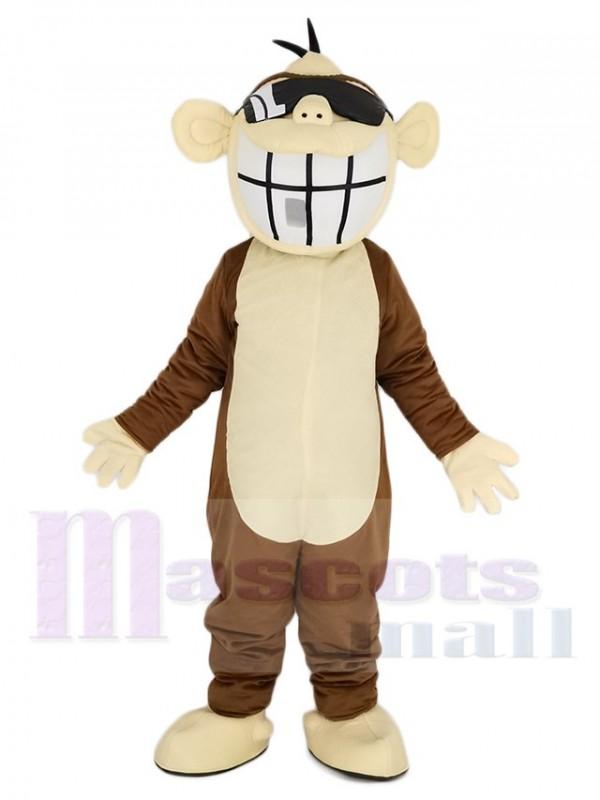 Brown Funny Monkey Mascot Costume Animal
