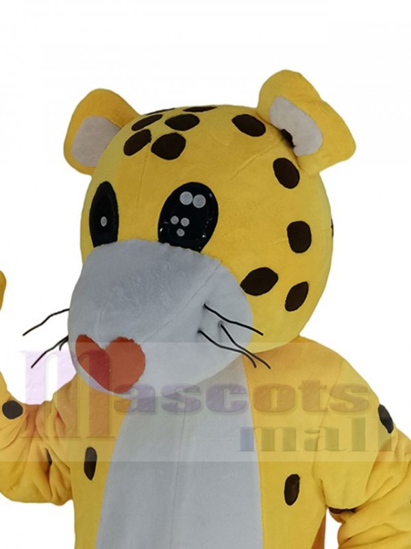 Cheetah Leopard mascot costume