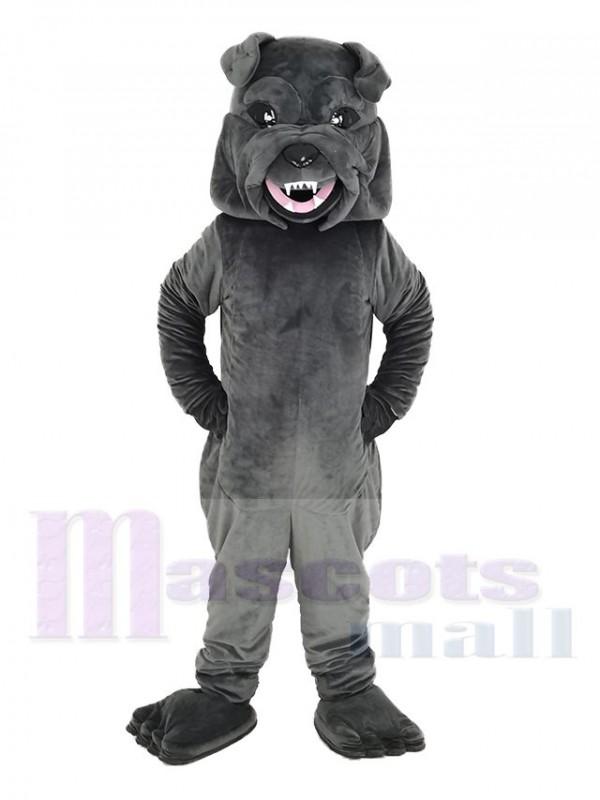 Black SharPei Dog Mascot Costume Animal