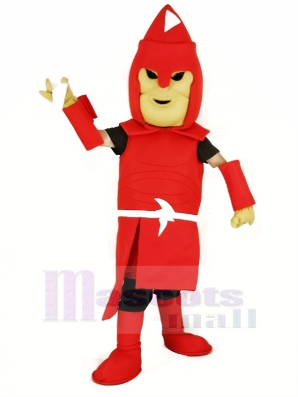 Red Titan Spartan Mascot Costume Adult