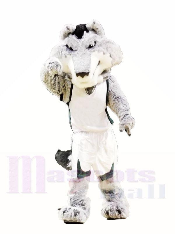 College Fierce Wolf Mascot Costumes