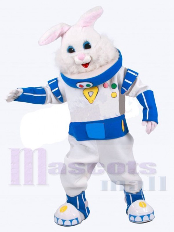 Astronaut Rabbit mascot costume