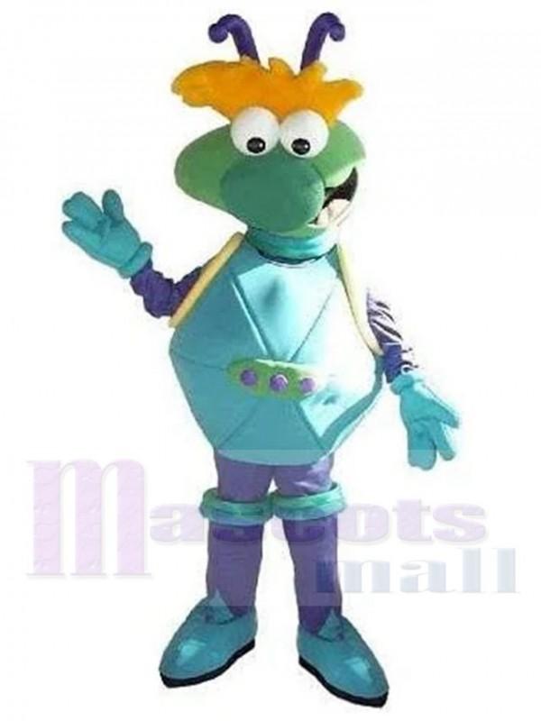 Astronaut Alien mascot costume