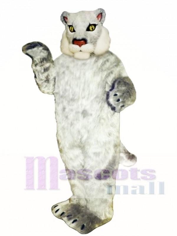Cute Bobcat Cat Mascot Costume