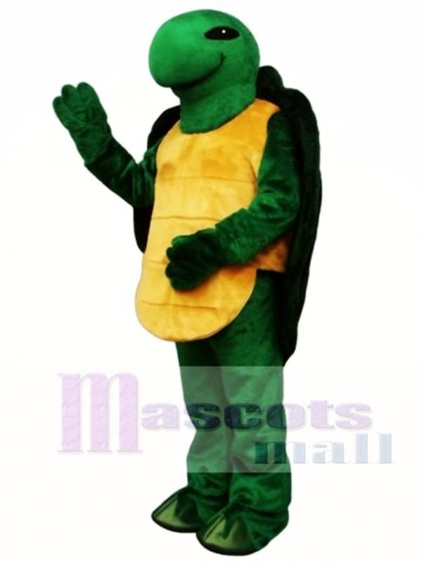 Pond Turtle Mascot Costume