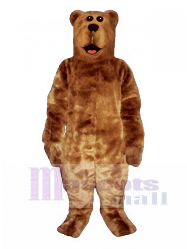 Willy Bear Mascot Costume