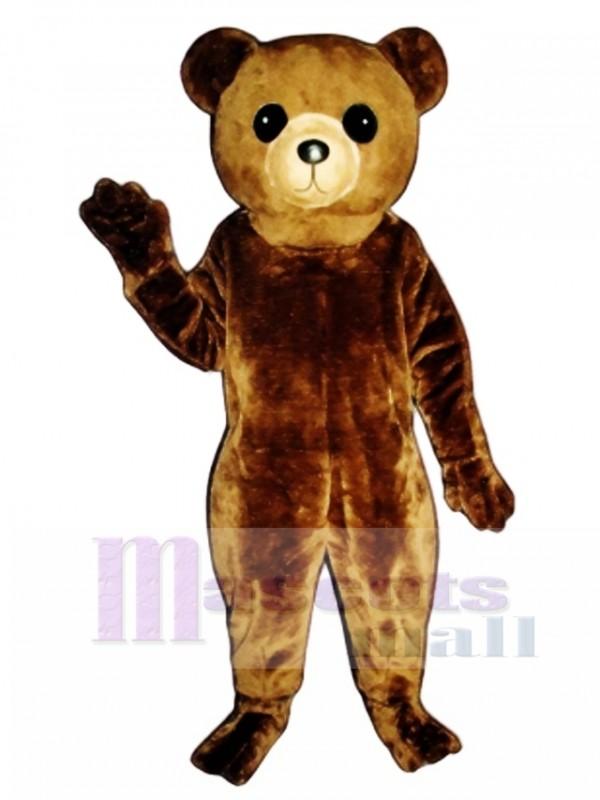 New Big Teddy Bear Mascot Costume