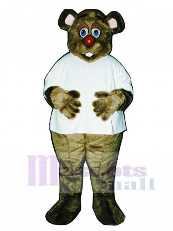 Cute Dr. Killbear with Shirt Mascot Costume