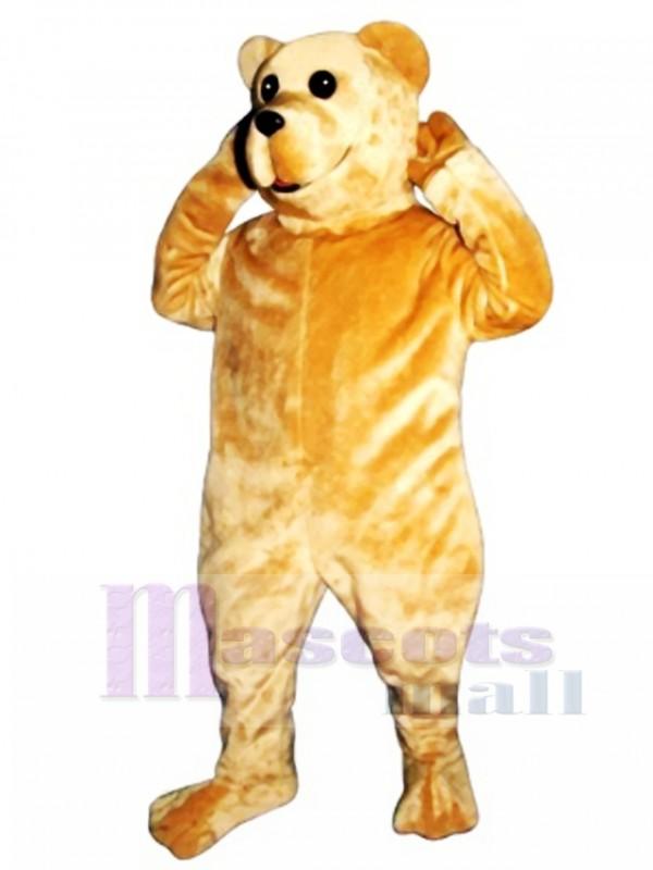 Cute Bruce Bear Mascot Costume