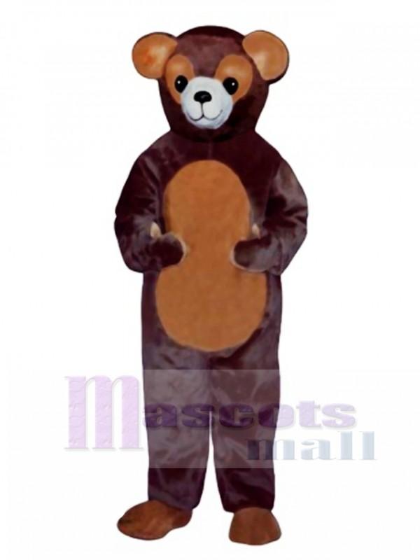 New Ted Bear Mascot Costume