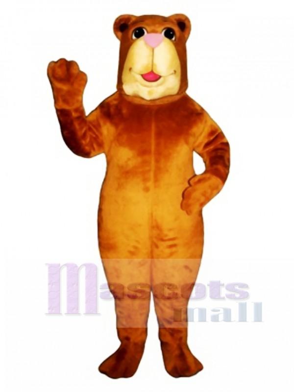 Cute Bully Bear Mascot Costume