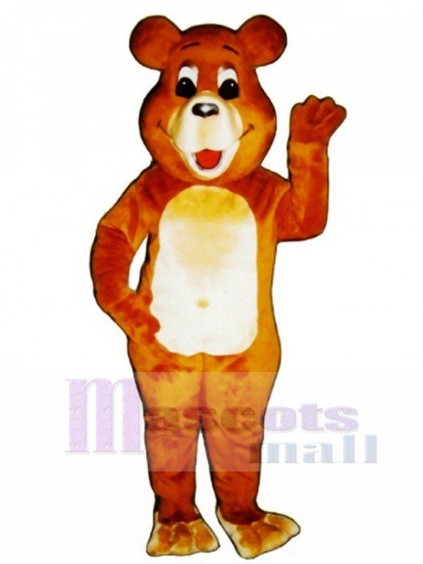New Belly Bear Mascot Costume