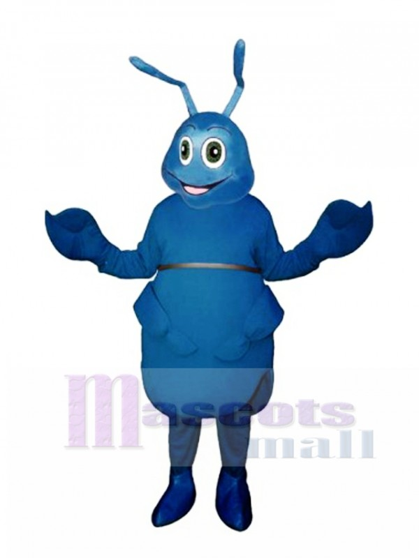 Blue Bug Mascot Costume