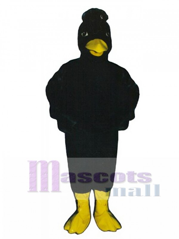 Cute Crow Mascot Costume