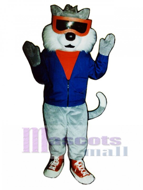 Cute Alley Cat Mascot Costume