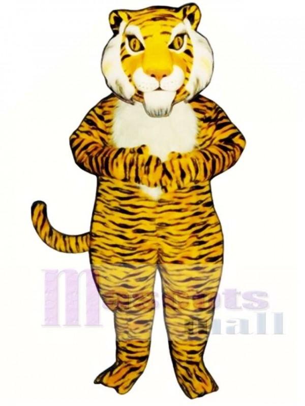 Cute Jungle Tiger Mascot Costume