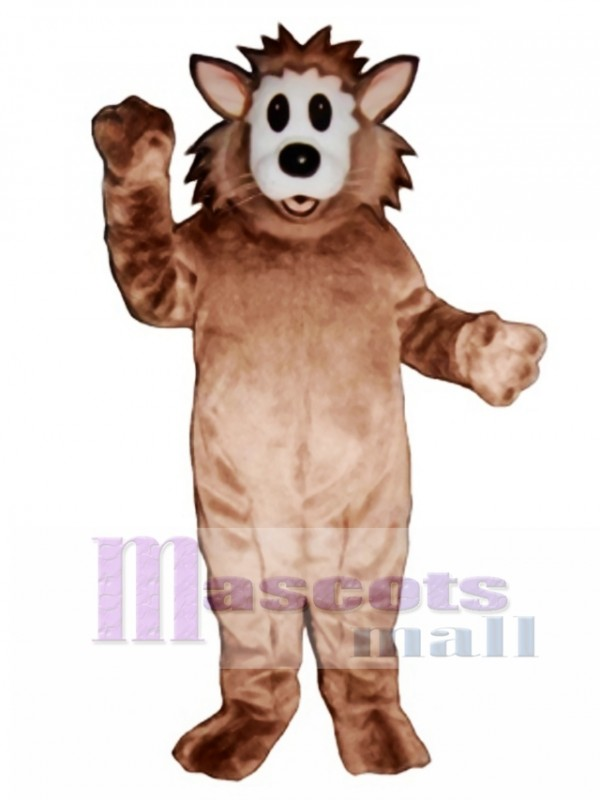 Cute Frantic Cat Mascot Costume