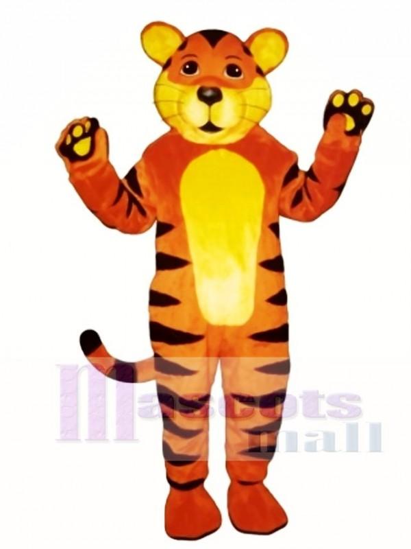 Cute Tiger Cub Mascot Costume