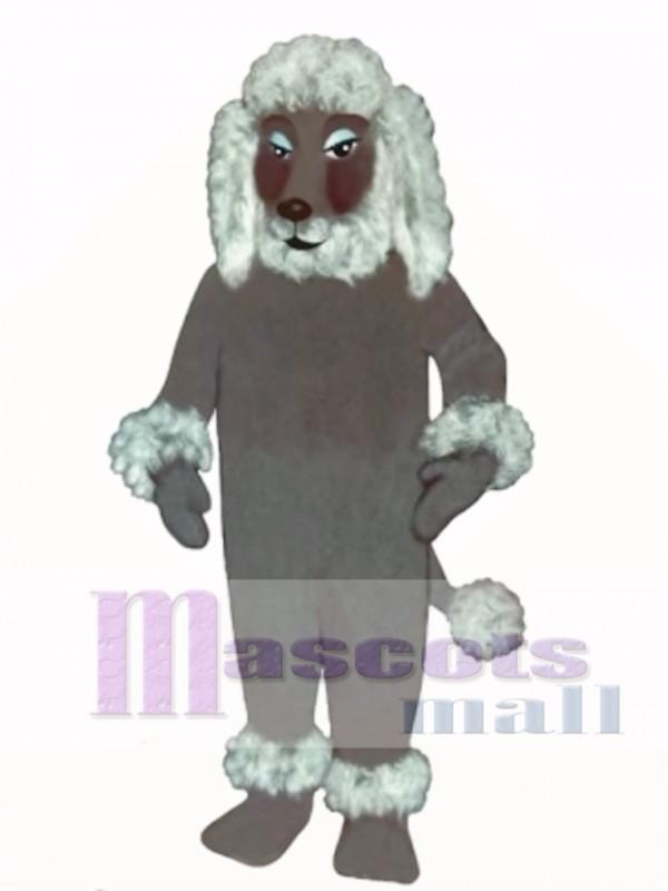 Cute Poodle Dog Mascot Costume