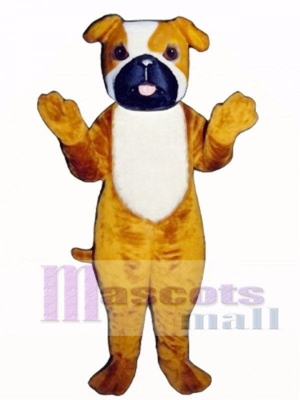 Cute Purvis Pooch Dog Mascot Costume