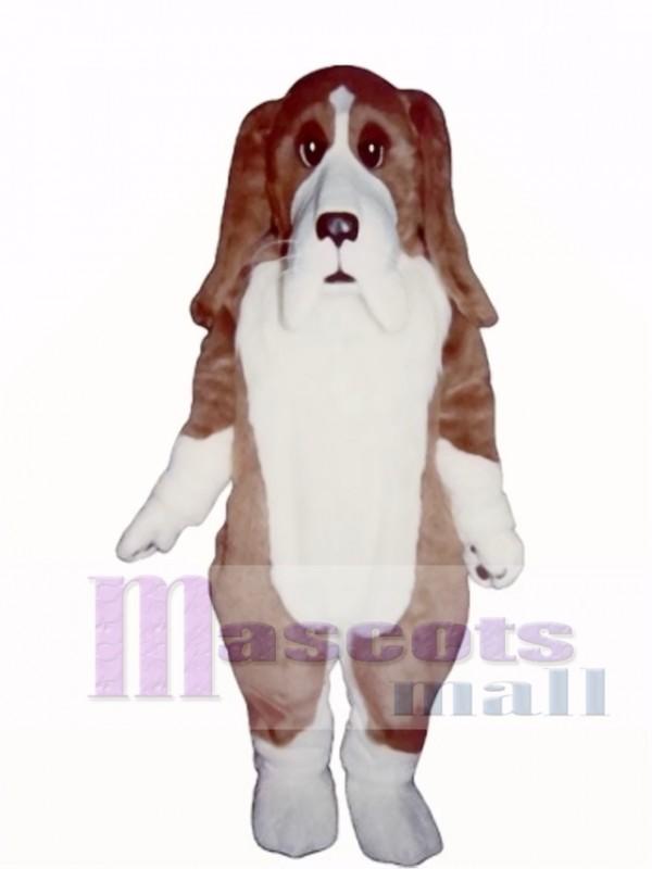 Cute Basset Hound Dog Mascot Costume