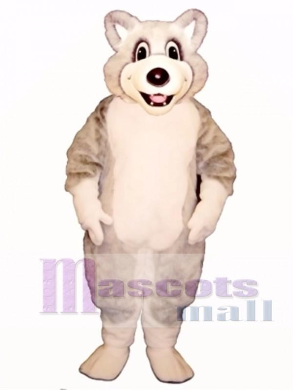 Cute Baby Husky Dog Mascot Costume