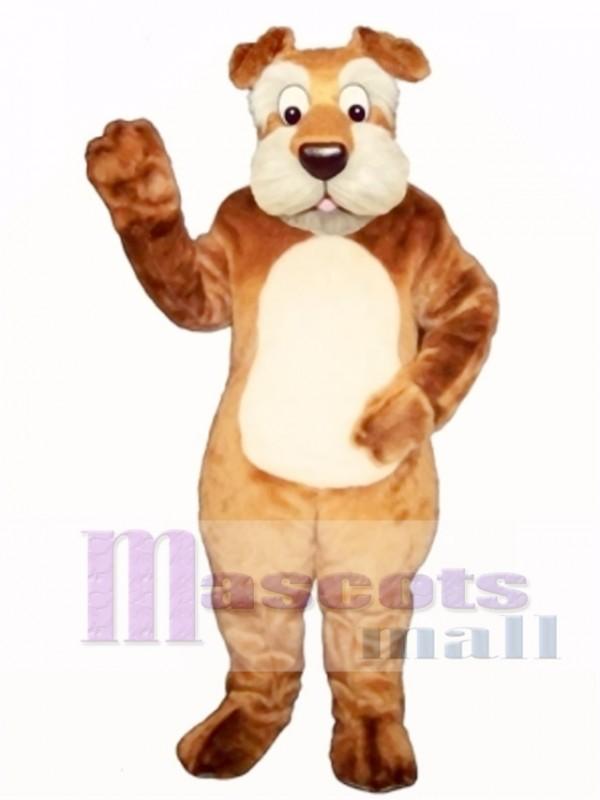 Cute Terri Terrier Dog Mascot Costume