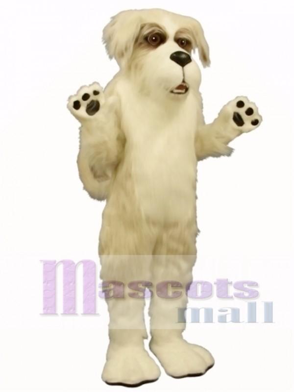 Cute Fluff Dog Mascot Costume