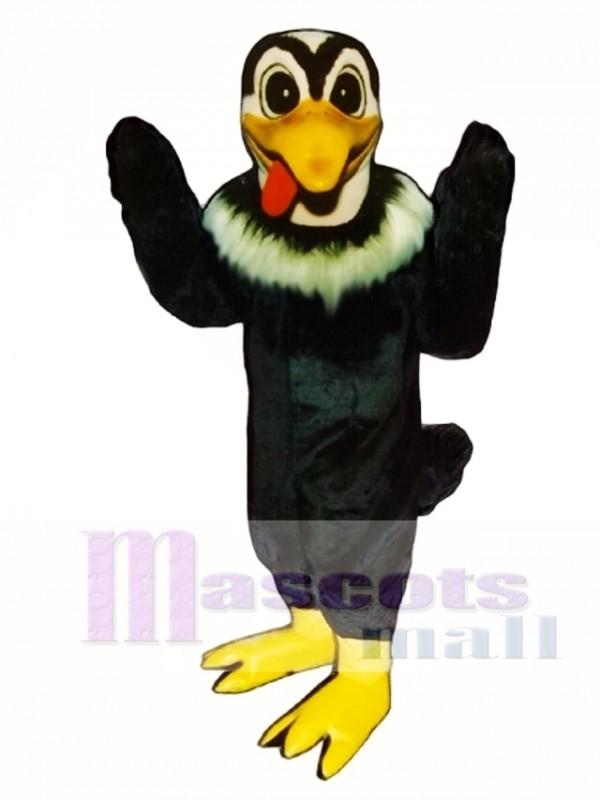 Cute Buzzy Buzzard Eagle Mascot Costume