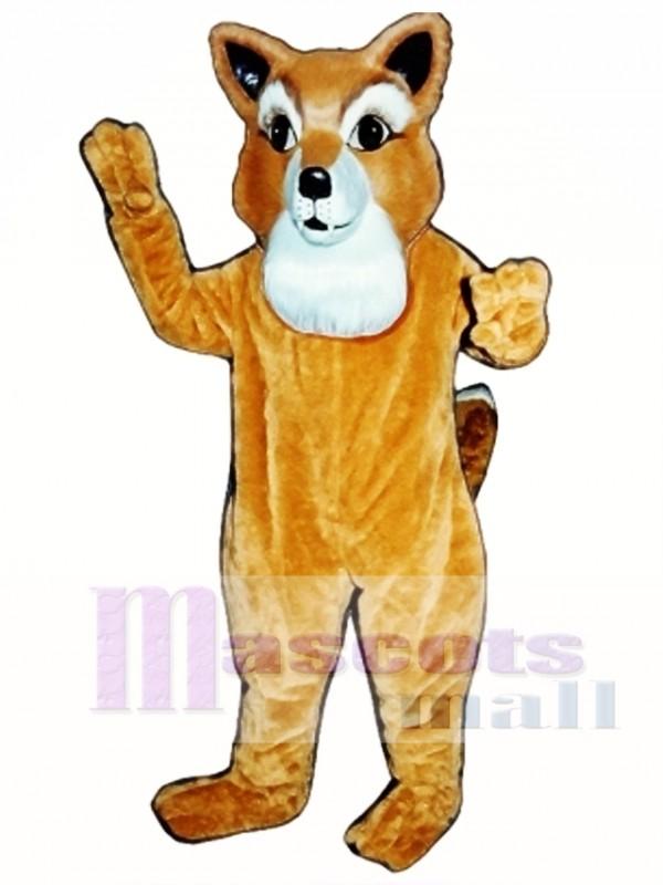Cute Frankie Fox Mascot Costume