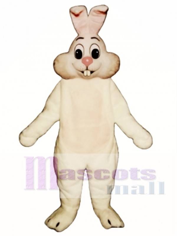 Cute Easter Buck Tooth Bunny Rabbit Mascot Costume