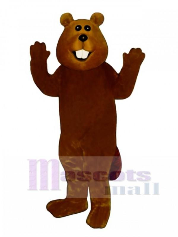 Charlie Beaver Mascot Costume