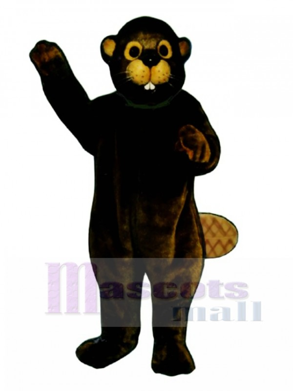 Busy Beaver Mascot Costume