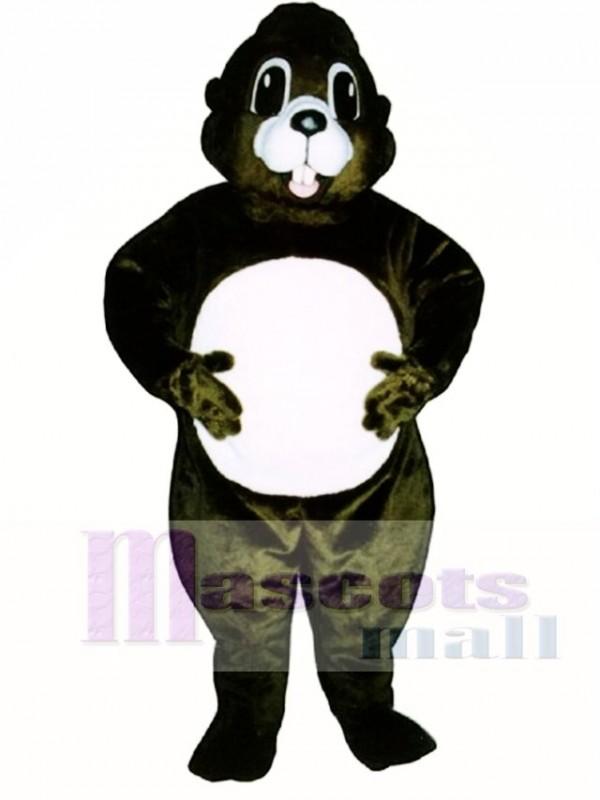 Happy Groundhog Mascot Costume